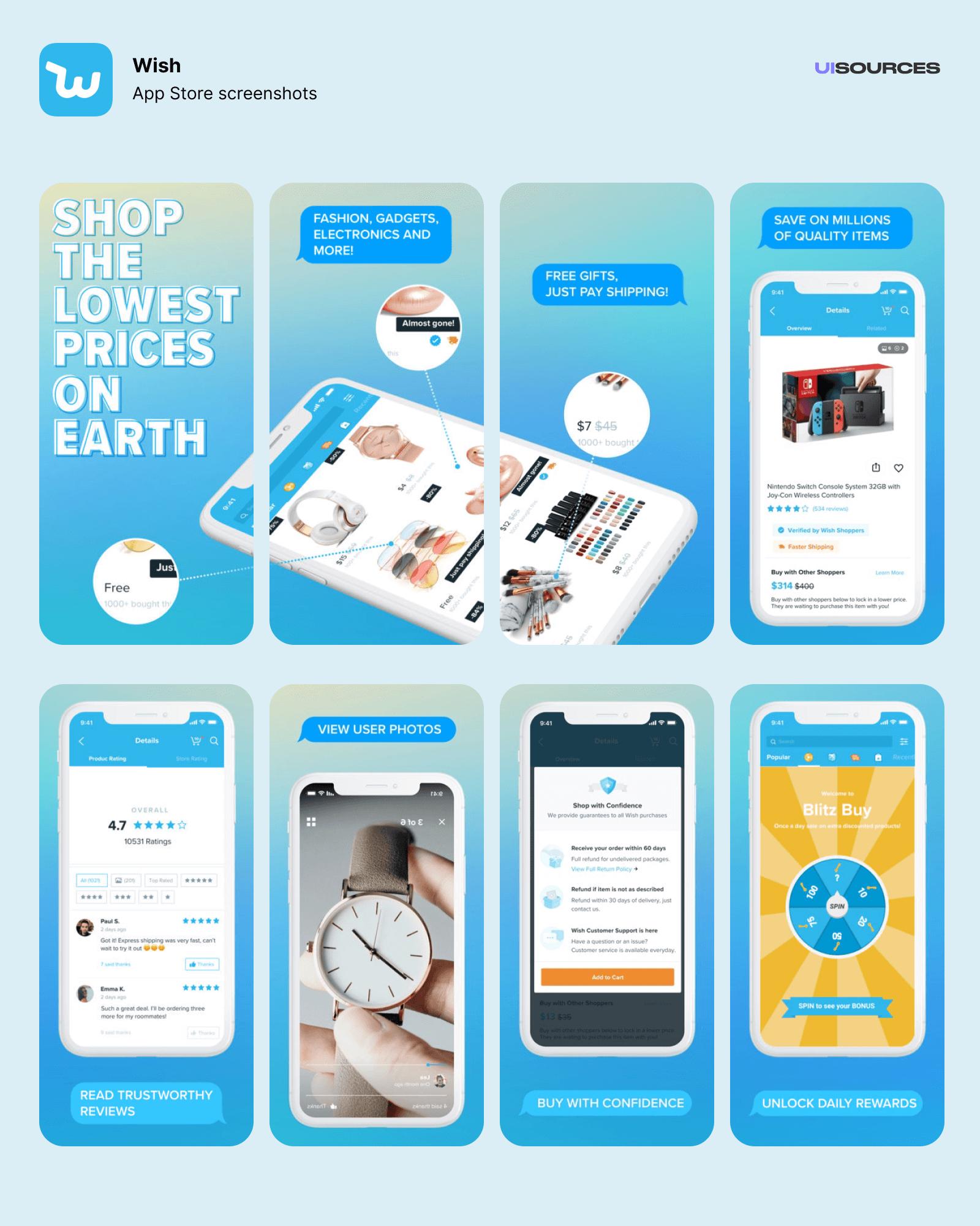 App Store screenshots