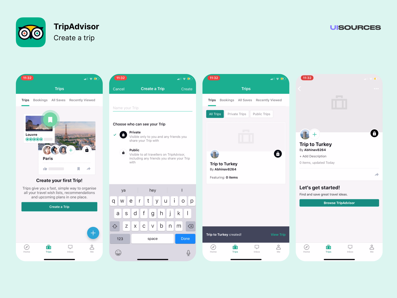 Create Trip