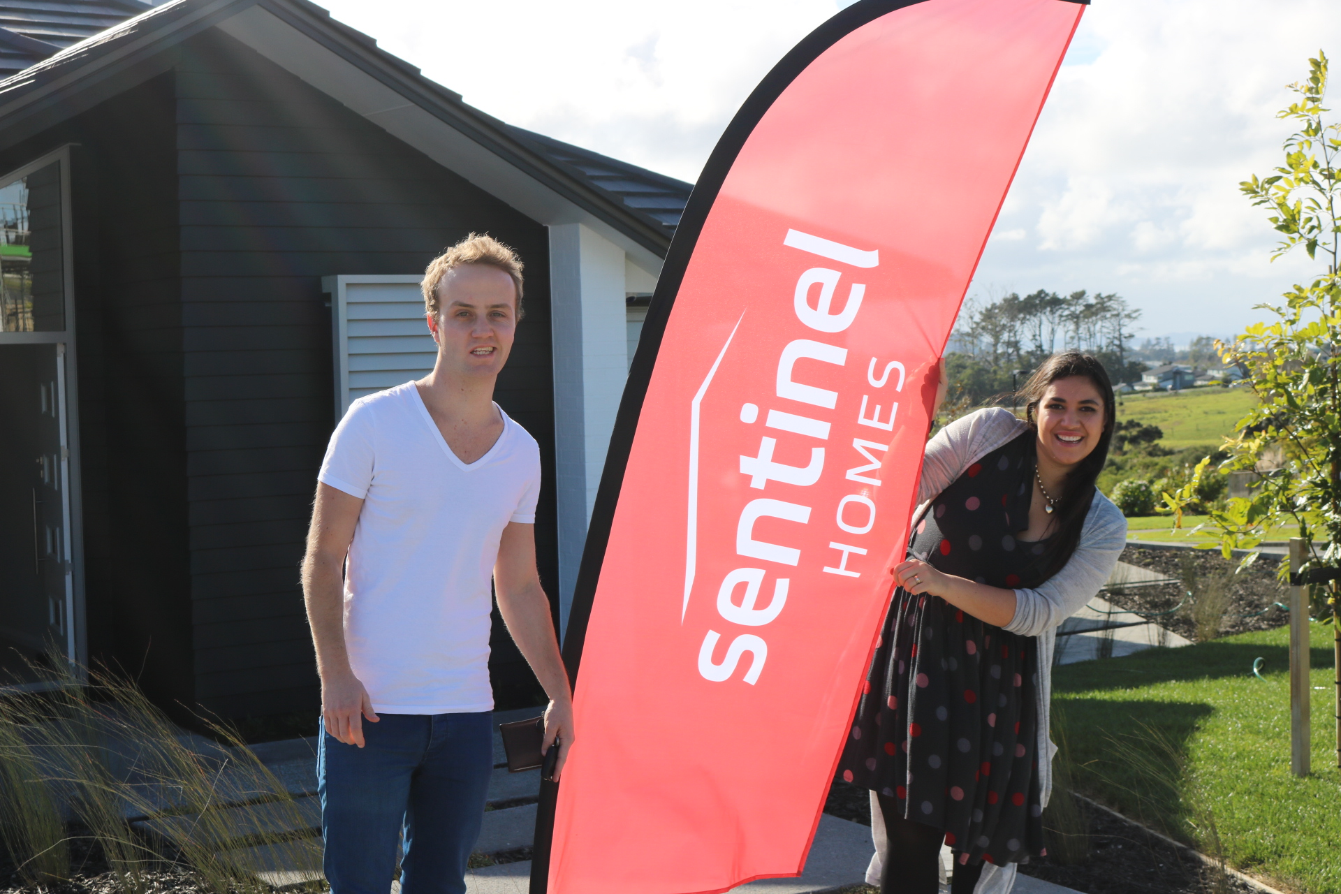 Auckland Couple build their Sentinel Homes' house