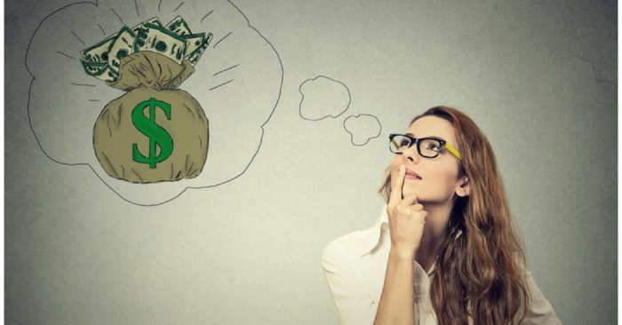 Dreaming of large compensation claim money