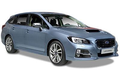 Blue Subaru Levorg Estate