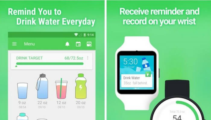 Water Drink Reminder app