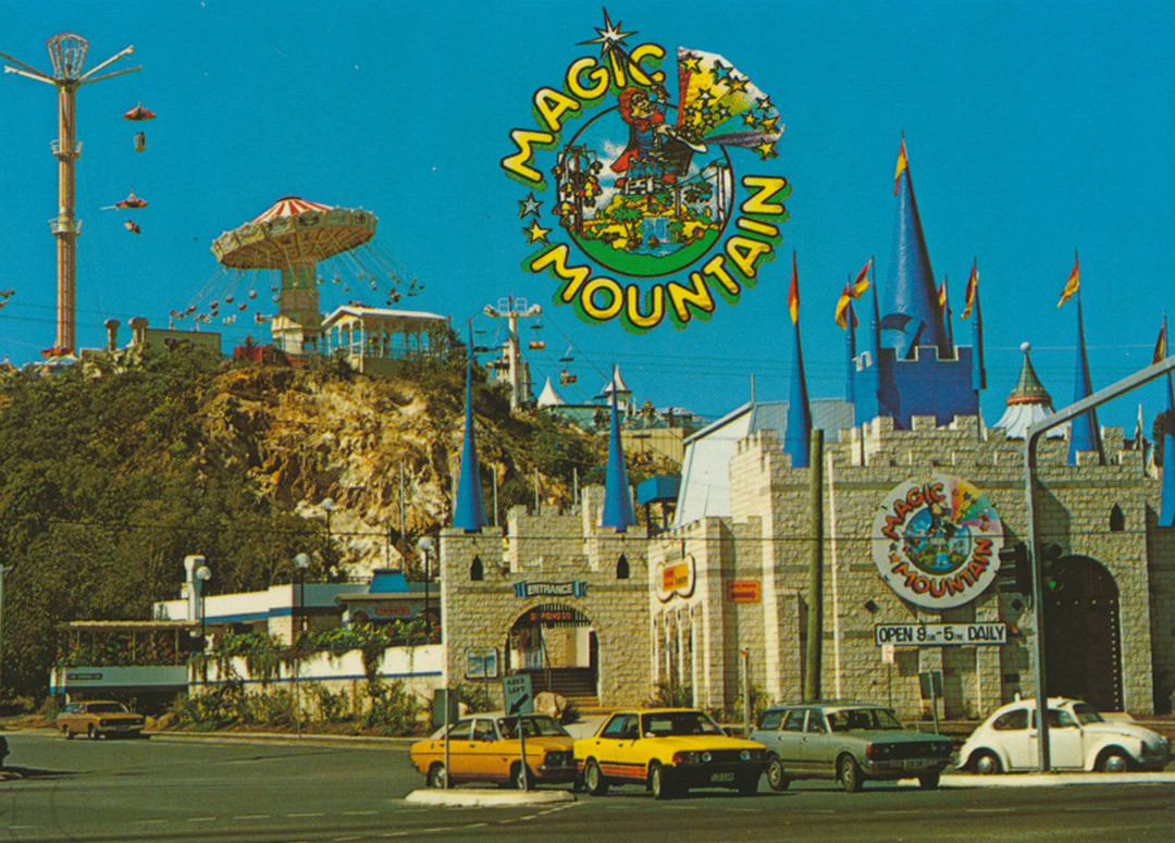 Magic Mountain theme park on the Gold Coast, Australia