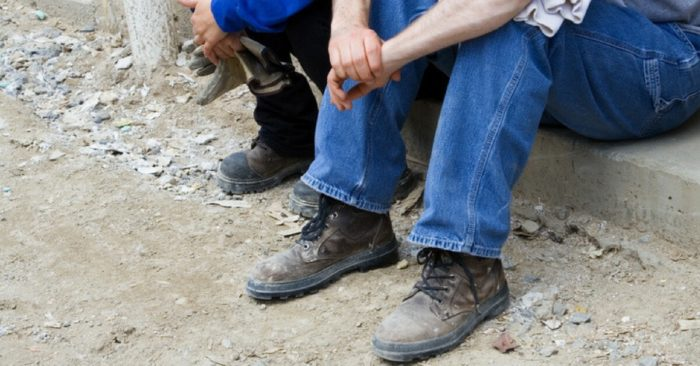 Unemployed trade workers after injury claim