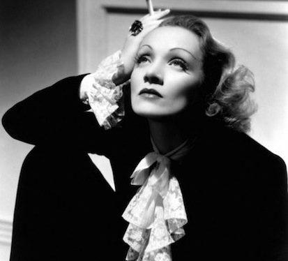 Marlene Dietrich iconic image