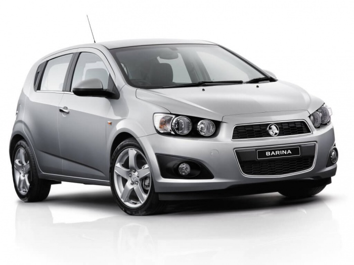 Light grey Holden Barina
