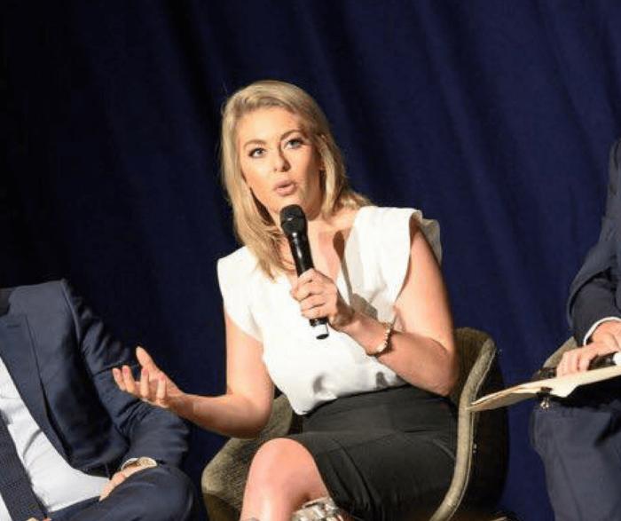 Gemma Lloyd speaking