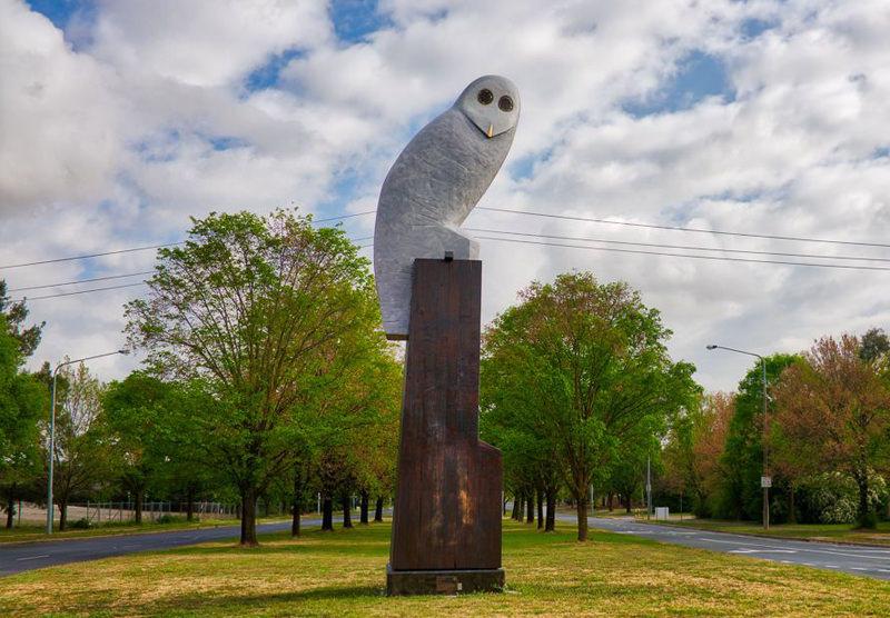 Giant Owl in Belconnen, ACT, Australia