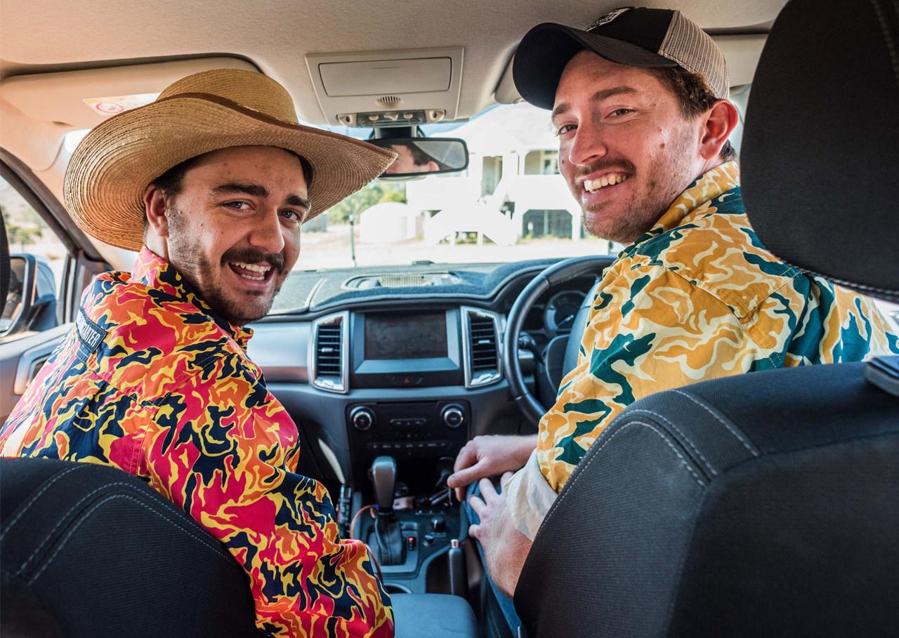 Trademutt founders Ed and Daniel