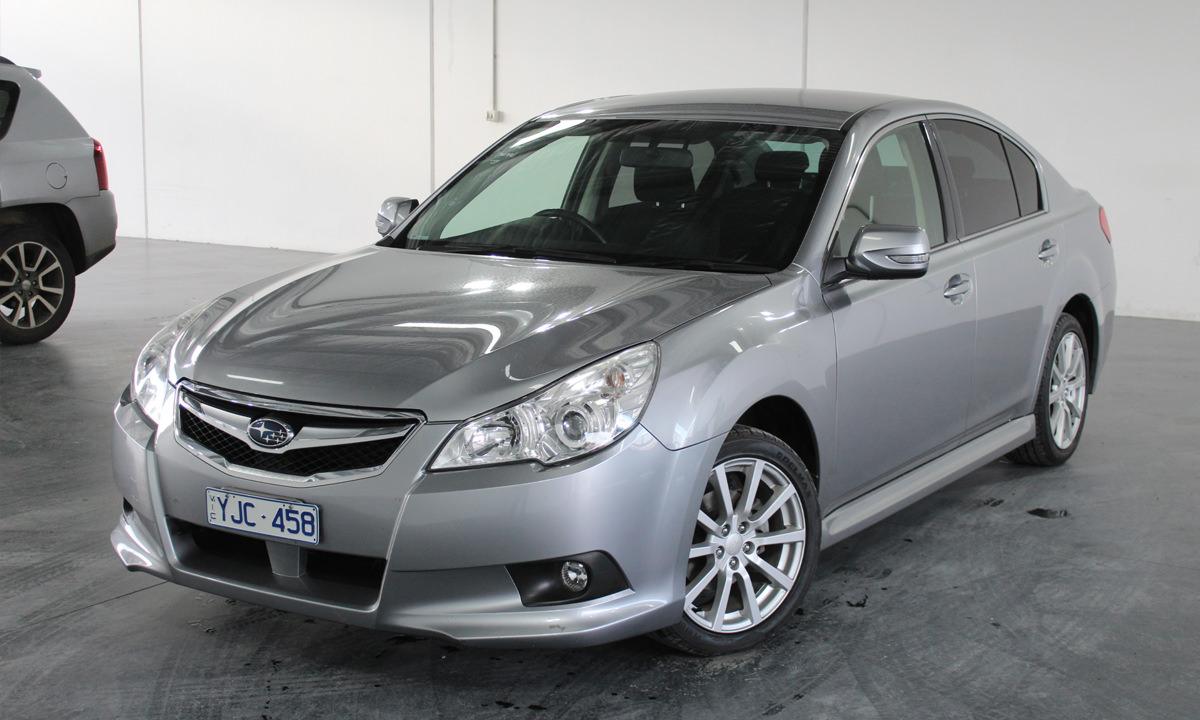 Grey Subaru Liberty
