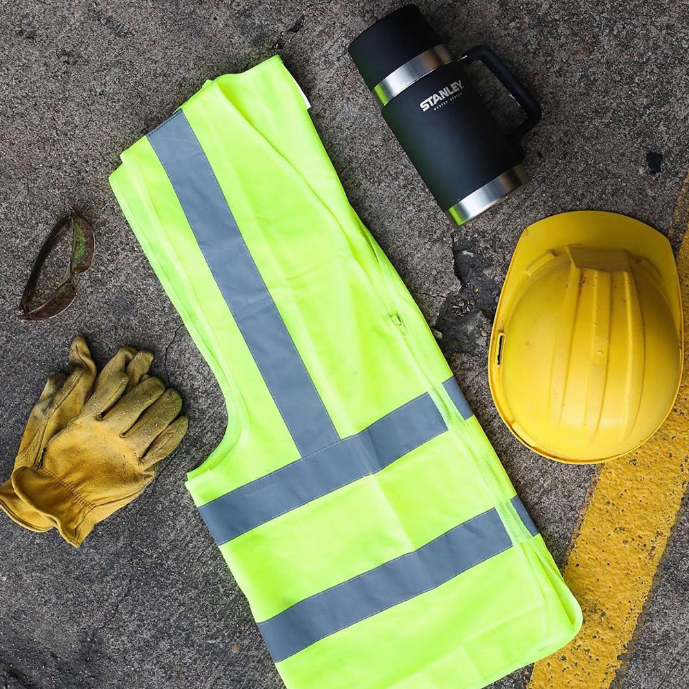 High-vis tradie safety gear