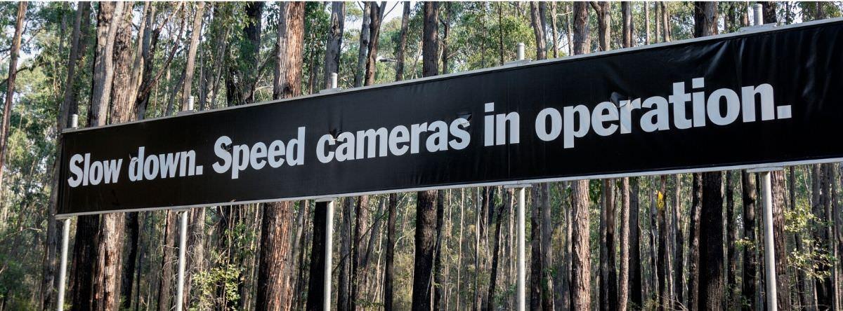 Speed camera campaign in Australia