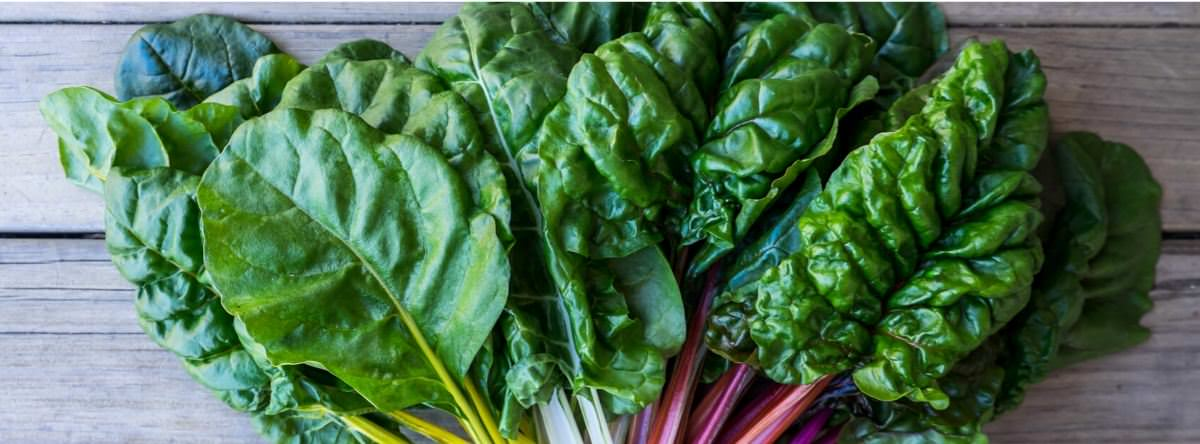 Leafy greens high in alkaline
