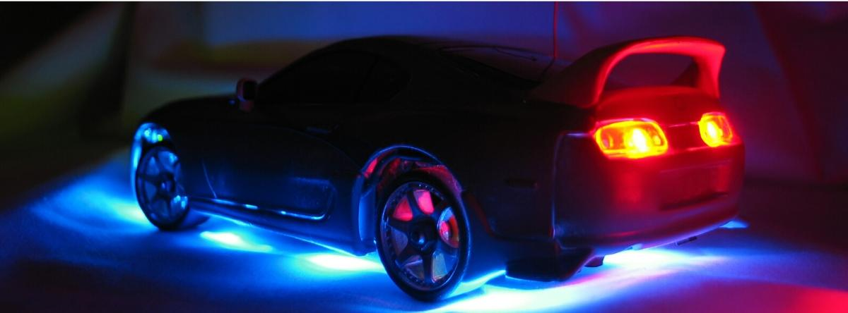LED under car body lighting