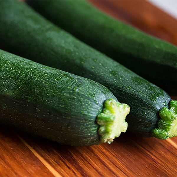 Courgettes (bag of 2) - green and yellow