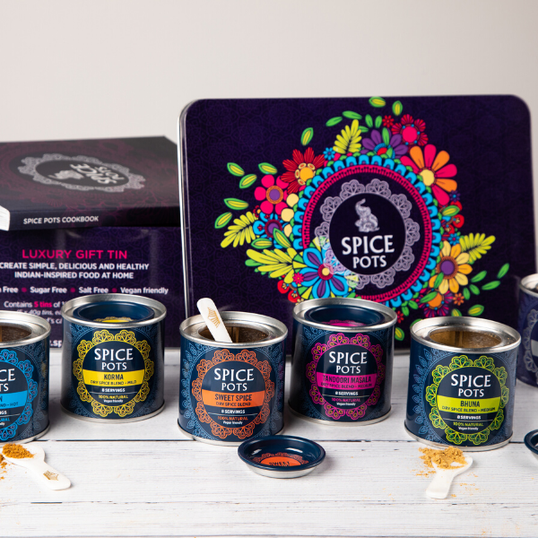 Spice Pots Gift tin