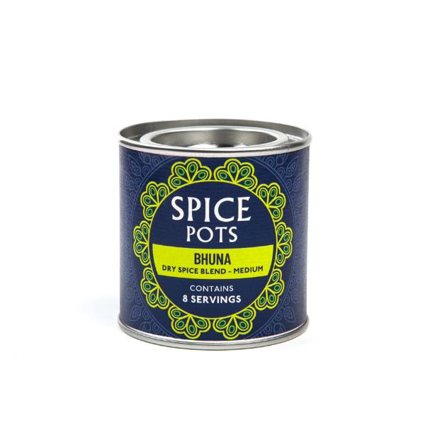 Spice Pots tins (GF, VG)