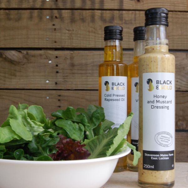 Black & Gold Dijon Vinaigrette - 250ml