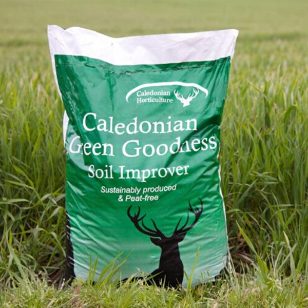 40L Caledonian Green Goodness Soil Improver - COLLECTION ONLY