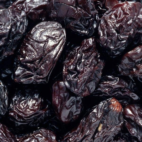 Stoned prunes