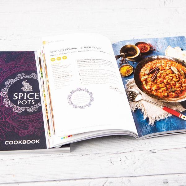Spice Pots recipe books