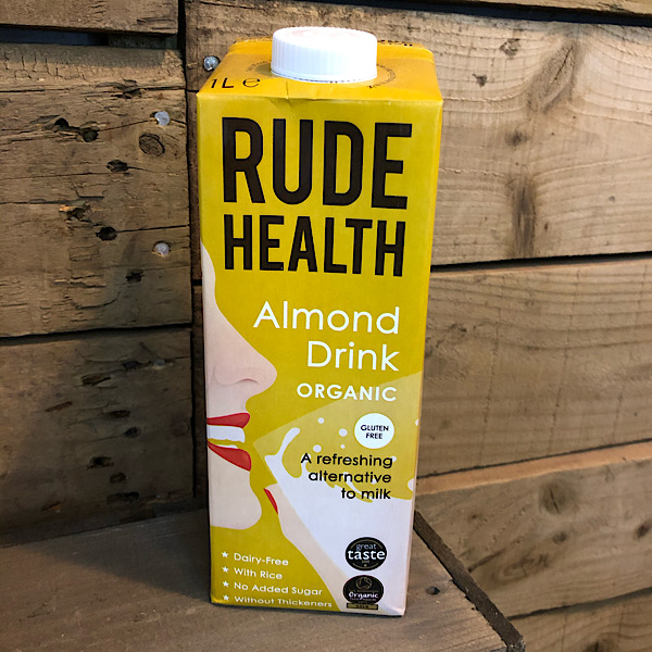 Rude Health Almond Milk - 1L carton (GF)