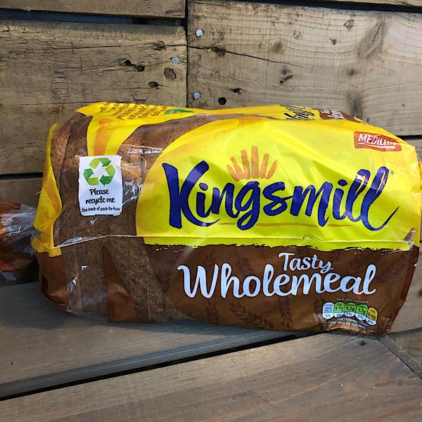 Kingsmill Bread - Wholemeal (V, VG)