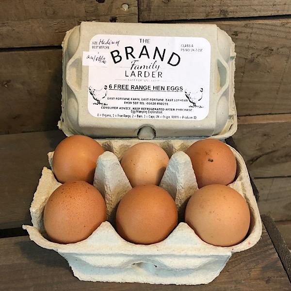 Hen eggs - maximum 3 boxes per order