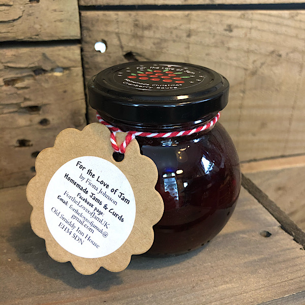 Cranberry Sauce - For the Love of Jam