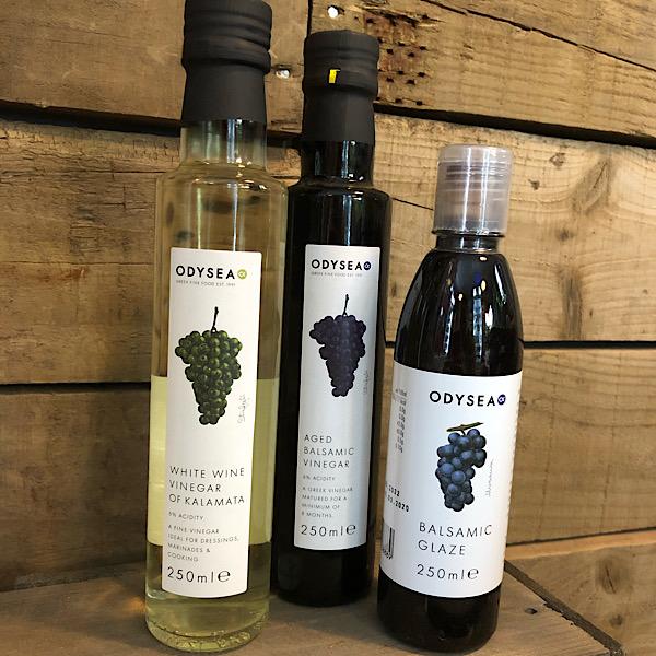 Aged Balsamic Vinegar - Odysea - 250ml bottles
