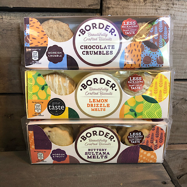 Border Biscuits - small packs and sharing pack