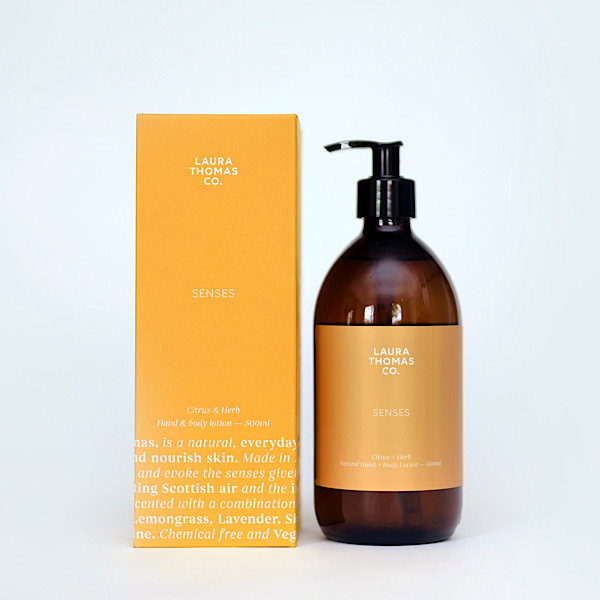 Laura Thomas Citrus and Herbs Hand and Body Lotion 500ml