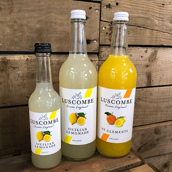Luscombe flavoured drinks - 740ml bottles