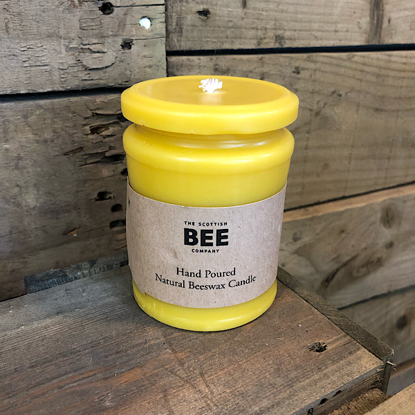 Beeswax Candles -Scottish Bee Company