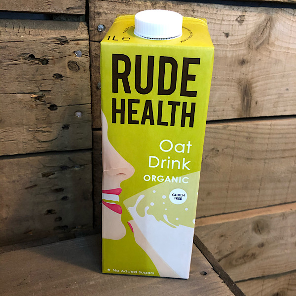 Rude Health Organic Oat Drink  (GF) 1L carton