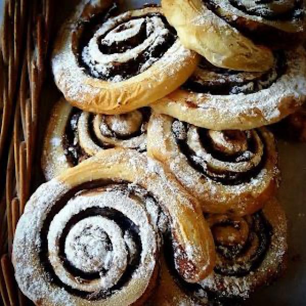 Cinnamon Buns - Dunbar Community Bakery