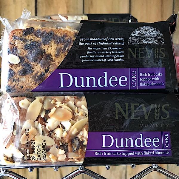 Dundee Cake - Nevis Bakery