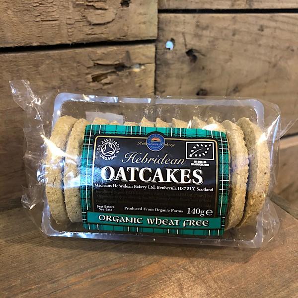 Maclean's Highland Bakery Hebridean Oatcakes Organic Wheat Free (VG, V)