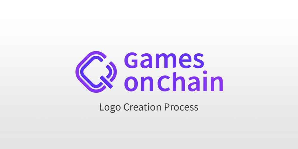 Games on Chain Logo Creation Process