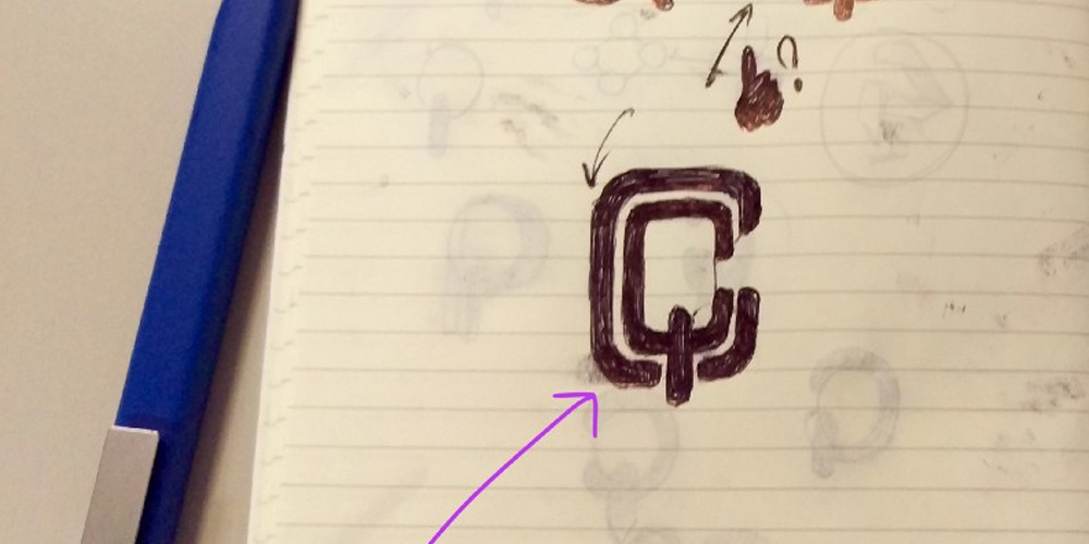 Games on Chain logo sketch