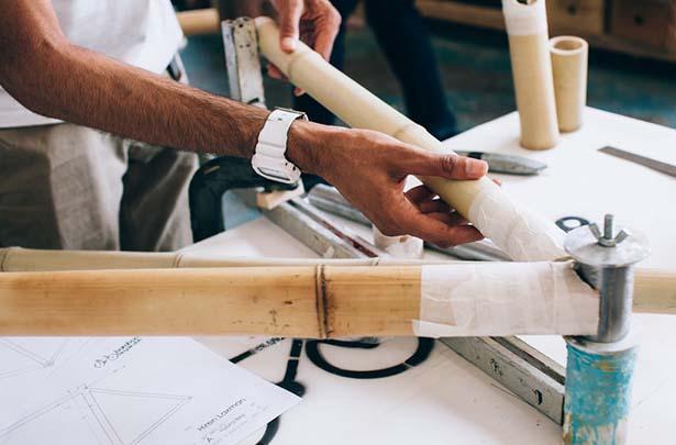 Future Bike: world's first 3D printed bamboo bike