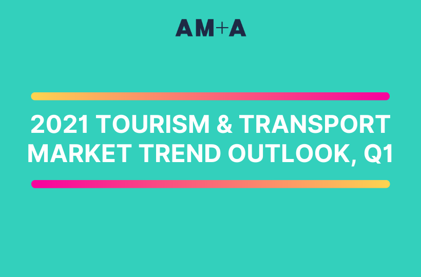 A look at the key tourism and transport trends for Q1 2021.