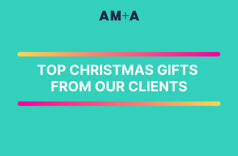 A summary of top Christmas gifts courtesy of our clients.