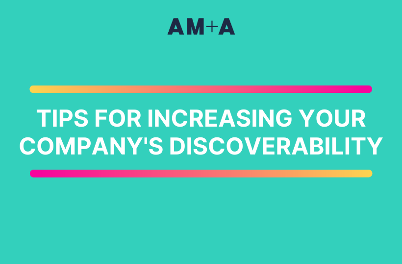 Five Marketing tips to increase the discoverability of your company