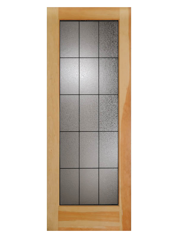 Glue Chip French Door