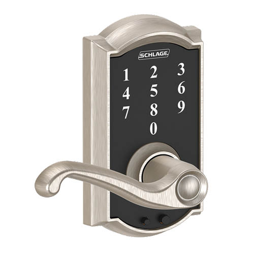 Camelot Trim and Flair Lever  Touchscreen Deadbolt