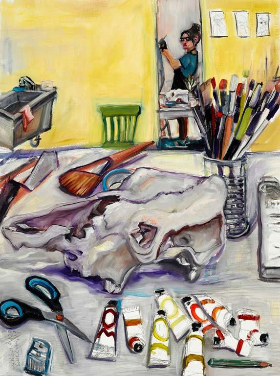 ursula gullow painter asheville nc cowork center for craft