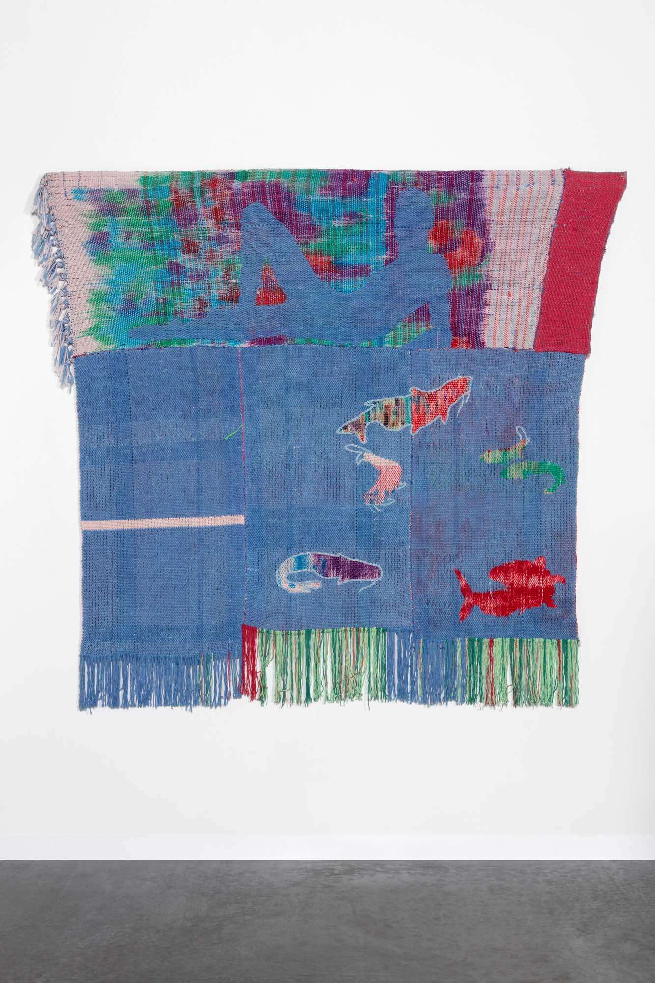 by diedrick brackens woven textile