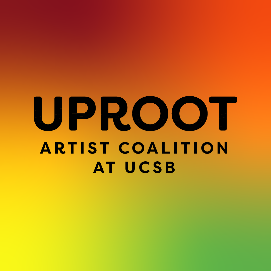 """Logo reads """"UPROOT"""" in white on orange-brown background."""