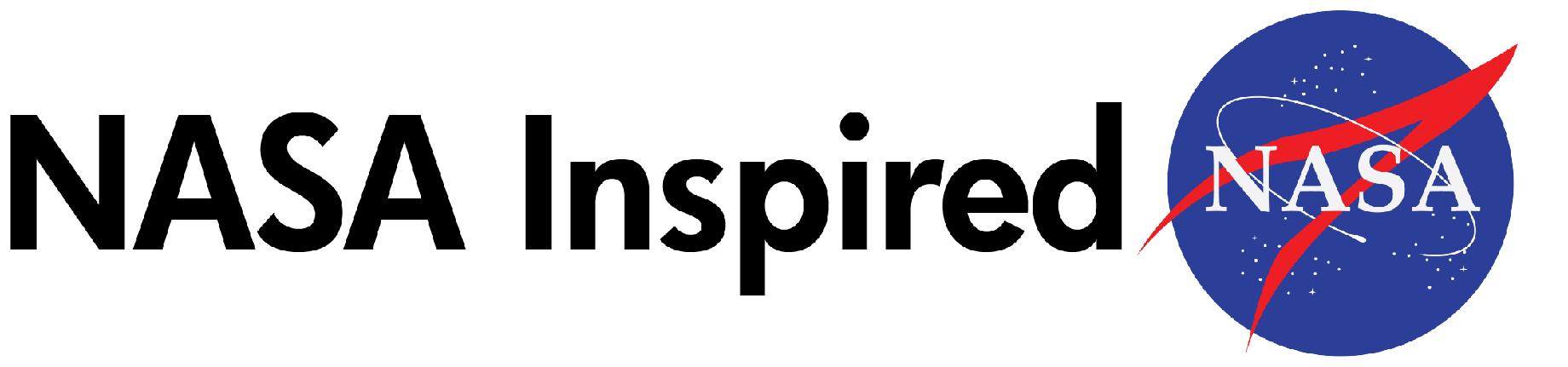 NASA inspired with NASA logo